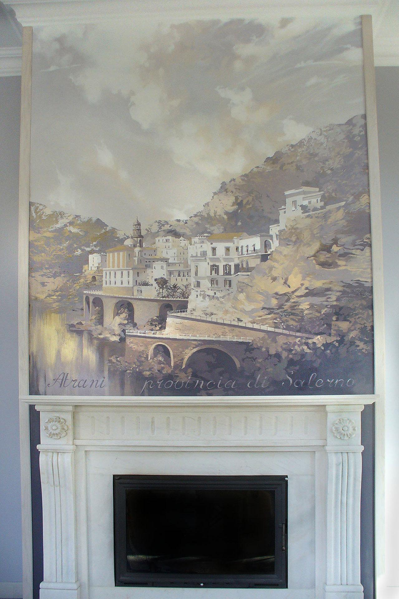 Интерьерная живопись Натальи Чепкасовой